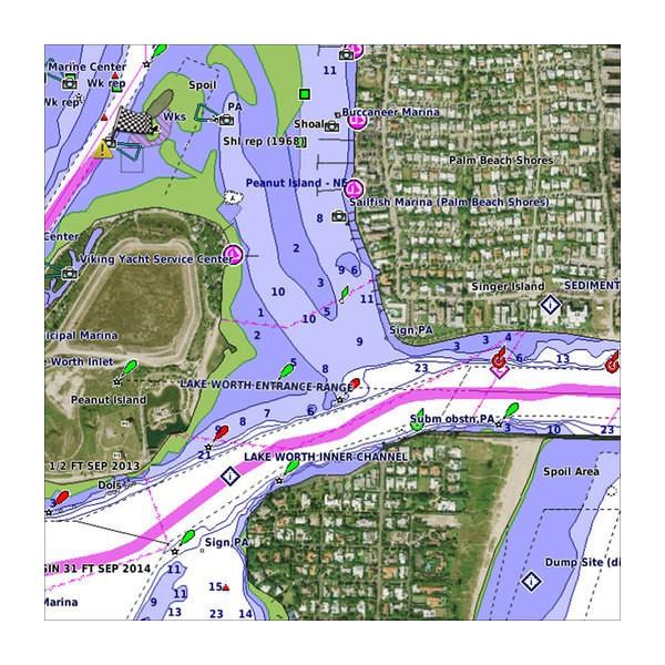 Карта Garmin BlueChart g2 Vision HD за Южна Европа