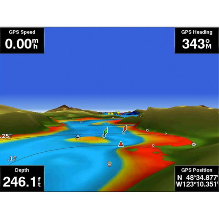 Карта Garmin BlueChart g3 Vision на Италия, Адриатическо море