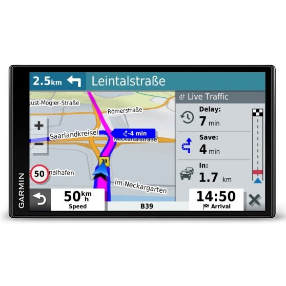 Автомобилна навигация Garmin DriveSmart™ 65 MT-D EU