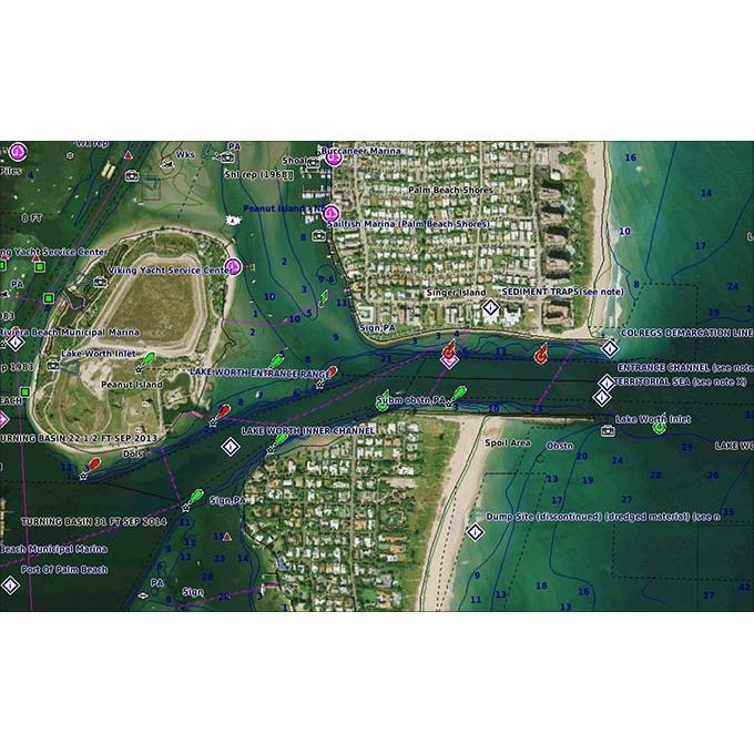 Карта Garmin BlueChart g3 Vision за река Дунав