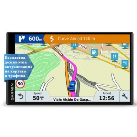 Автомобилна навигация Garmin DriveSmart™ 61 LMT-S EU