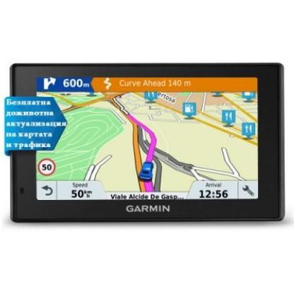 Автомобилна GPS навигация Garmin DriveSmart™ 51 LMT-S EU
