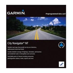Навигационна карта Garmin City Navigator® Южна Азия NTU