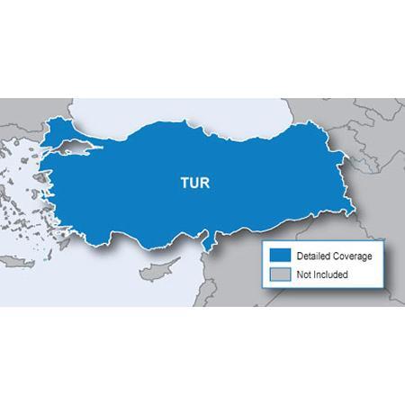 Навигационна карта Garmin City Navigator Турция NT