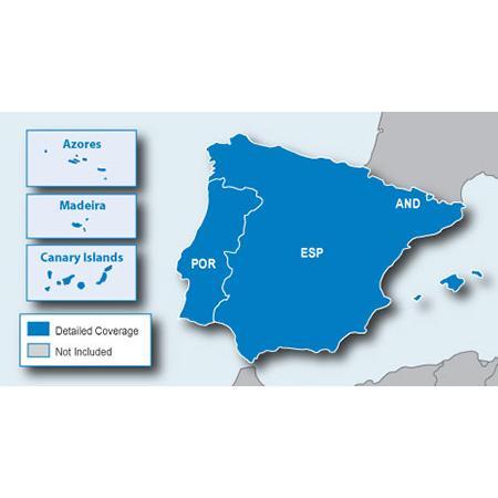 Навигационна карта Garmin City Navigator® Europe NT – Испания/Португалия
