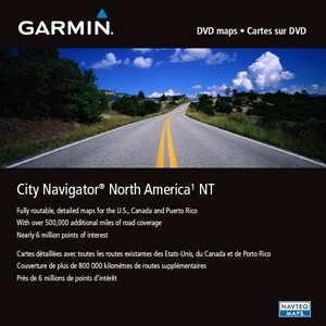 Навигационна карта Garmin City Navigator® Северна Америка NT