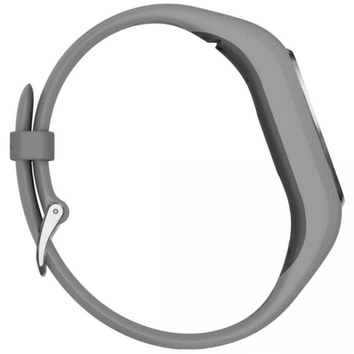 Смарт гривна GARMIN Vivosmart 4 Silver/Grey S/M