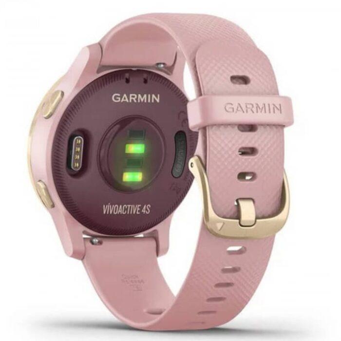 Смарт часовник GARMIN Vivoactive 4S Dust Rose/Light Gold