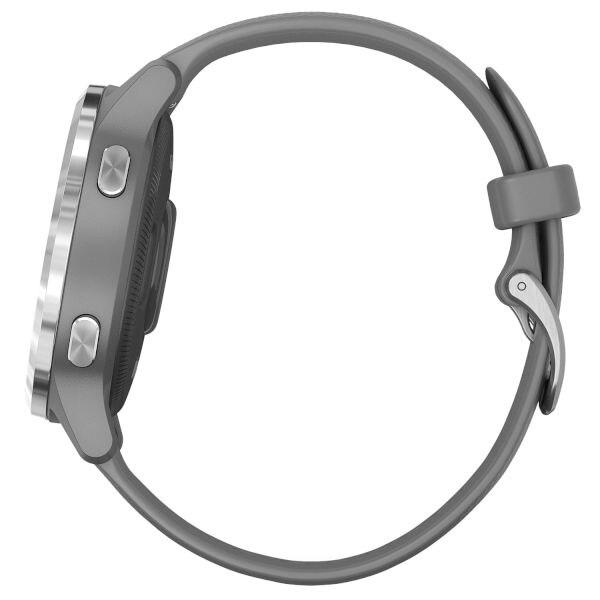Смарт часовник GARMIN Vivoactive 4S Powder Gray/Silver