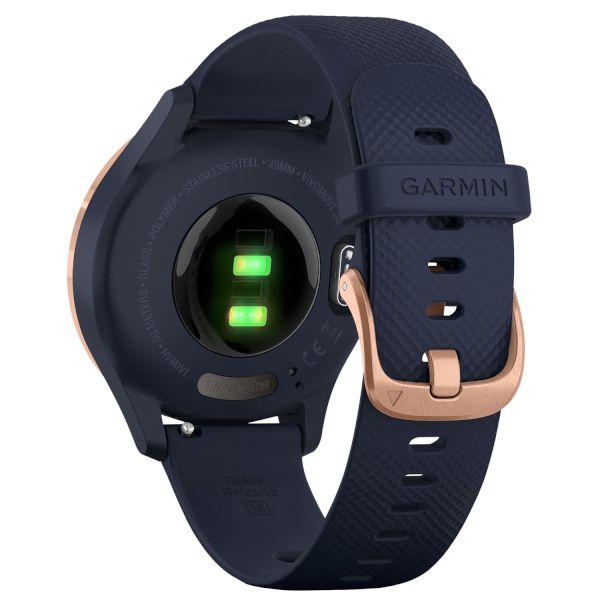 Хибриден смарт часовник GARMIN Vívomove 3S Navy