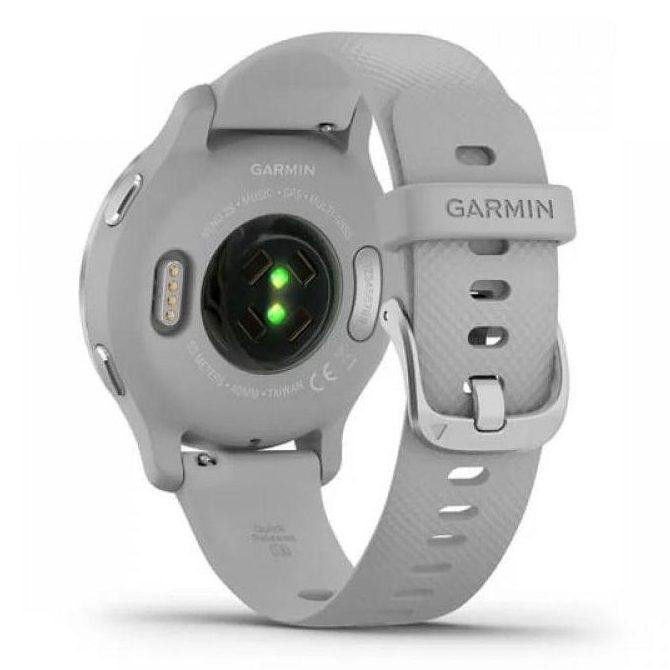 Смарт часовник GARMIN VENU 2S Silver/Mist Gray