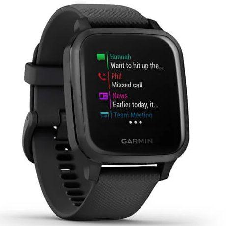 Смарт часовник GARMIN Venu SQ Music Black/Slate Bezel