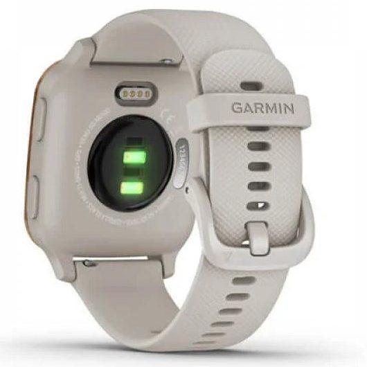 Смарт часовник GARMIN Venu SQ Music Light Sand/Rose Gold Bezel