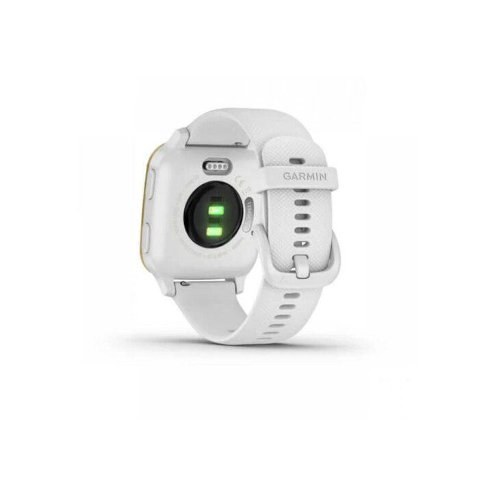 Смарт часовник GARMIN Venu SQ White/Light Gold Bezel