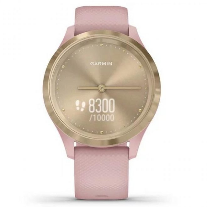 Хибриден смарт часовник GARMIN Vívomove 3S Dust Rose
