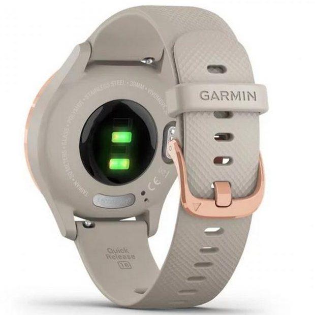 Хибриден смарт часовник GARMIN Vívomove 3S Light Sand