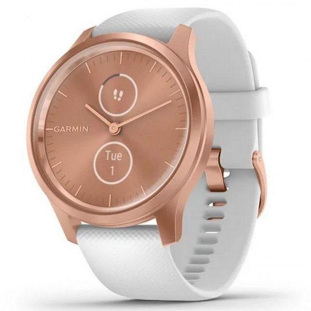 Хибриден смарт часовник GARMIN Vívomove Style White/Rose Gold