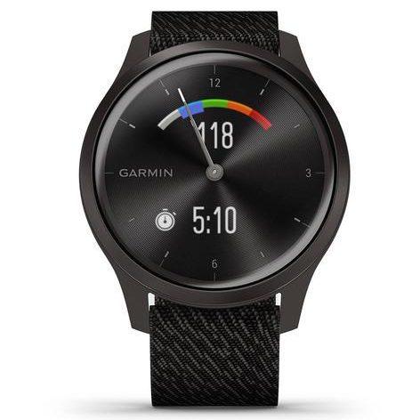 Хибриден смарт часовник GARMIN Vívomove Style Slate/Black Pepper