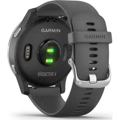 Смарт часовник GARMIN Vivoactive 4 Shadow Gray/Silver