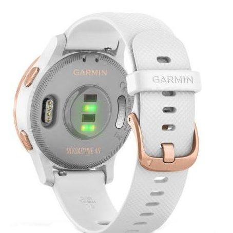 Смарт часовник GARMIN Vivoactive 4S White/Rose Gold