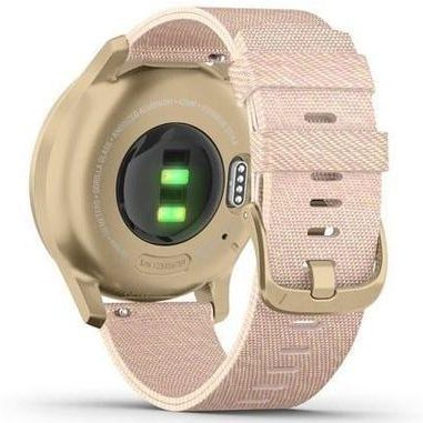 Хибриден смарт часовник GARMIN Vívomove Style Light Gold/Blush Pink