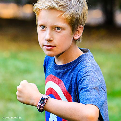 Смарт гривна GARMIN Vivоfit jr. 2 Captain America