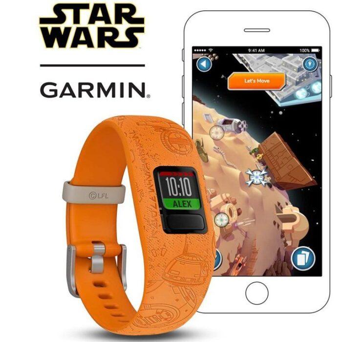 Смарт гривна GARMIN Vivоfit jr. 2 Star Wars – Light Side
