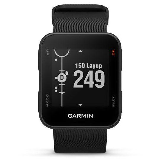 Часовник с GPS за голф GARMIN Approach S10 черен