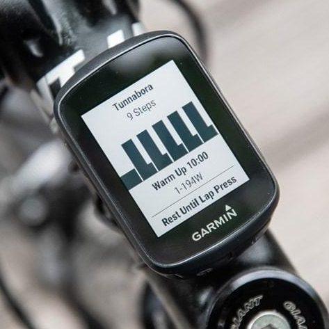 Навигация за велосипеди Garmin Edge 130 Plus HRM Bundle