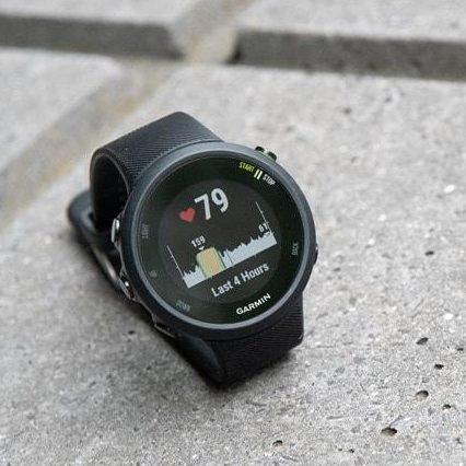 Часовник Garmin Forerunner 45 black