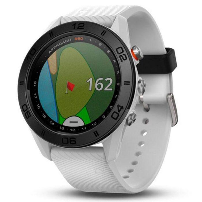 Часовник с GPS за голф GARMIN Approach S60 white