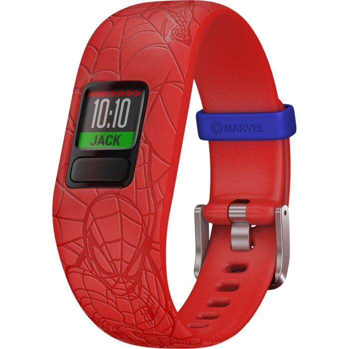 Смарт гривна GARMIN Vivоfit jr. 2 Spider-Man, червена