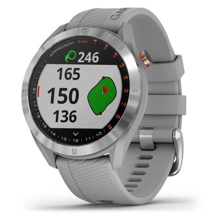 Часовник с GPS за голф GARMIN Approach S40 Grey