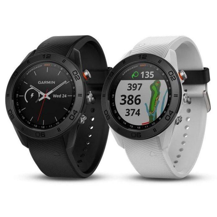 Часовник с GPS за голф GARMIN Approach S60 black