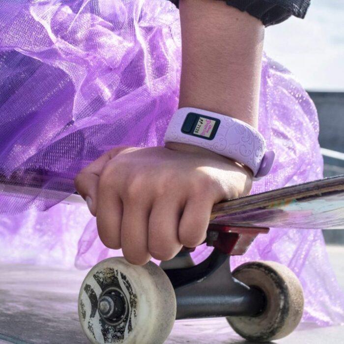Смарт гривна GARMIN Vivоfit jr. 2 Princess Purple