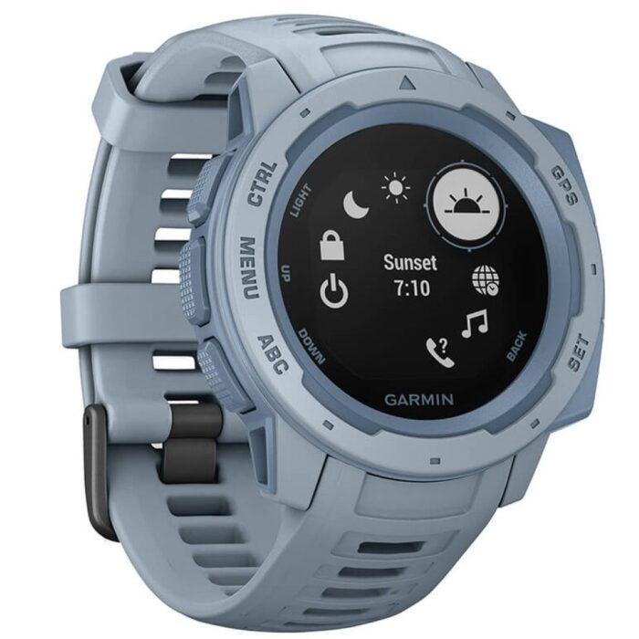 Смарт часовник Garmin – Instinct, Sea Foam
