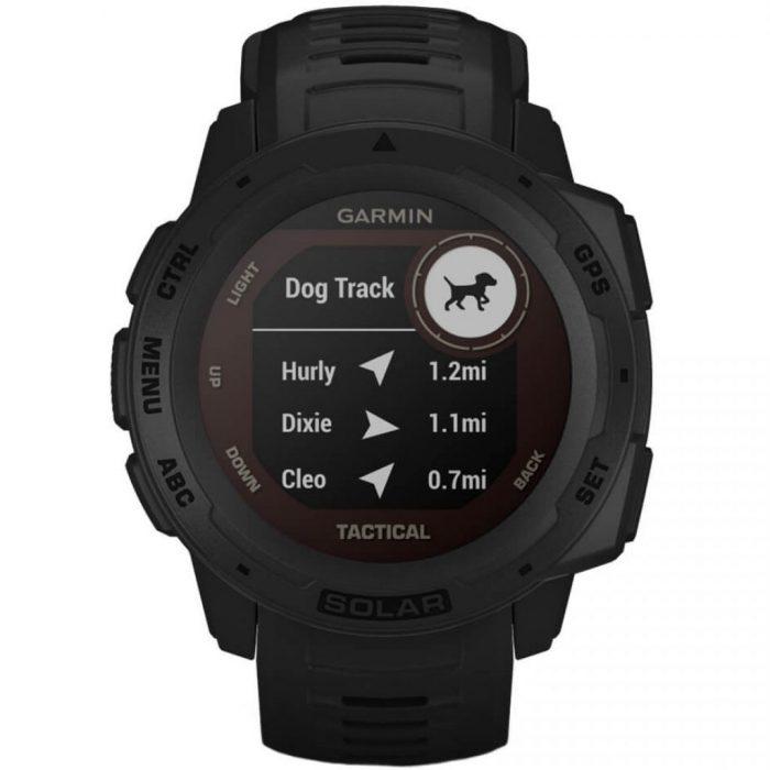 Смарт часовник Garmin Instinct Solar – Tactical, Black