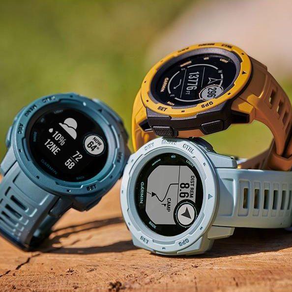Смарт часовник Garmin – Instinct, Lakeside Blue