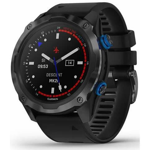 Смарт часовник Descent Mk2i Titanium Carbon Grey DLC/Black