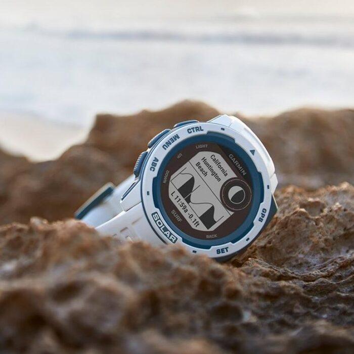 Смарт часовник Garmin Instinct Solar – Surf, Cloudbreak