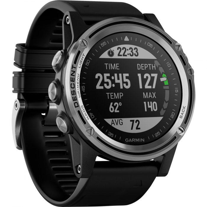Смарт часовник Descent Mk1 silver/black
