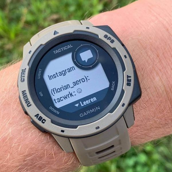 Смарт часовник Garmin – Instinct, Tundra