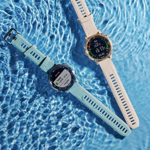 Смарт часовник Descent Mk2S Light Gold/Light Sand