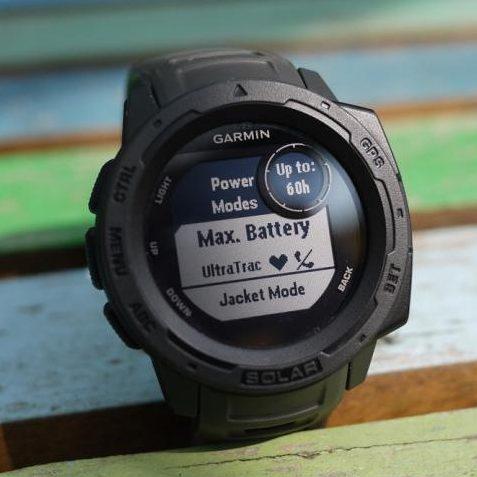 Смарт часовник Garmin – Instinct Solar, Graphite