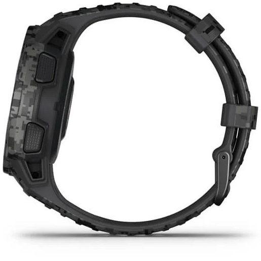 Смарт часовник Garmin – Instinct Solar, Graphite Camo