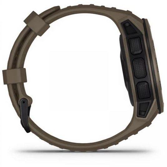 Смарт часовник Garmin – Instinct, Tactical Edition Coyote Tan