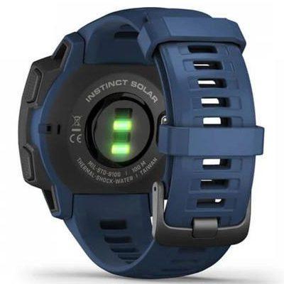 Смарт часовник Garmin – Instinct Solar, Tidal Blue