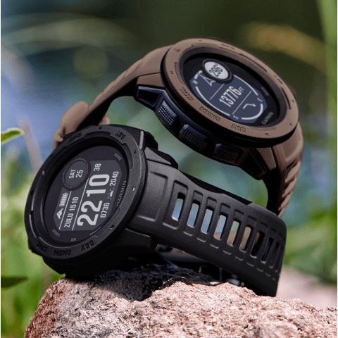 Смарт часовник Garmin – Instinct, Tactical Edition Black