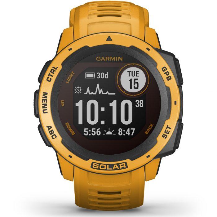 Смарт часовник Garmin – Instinct Solar, Sunburst