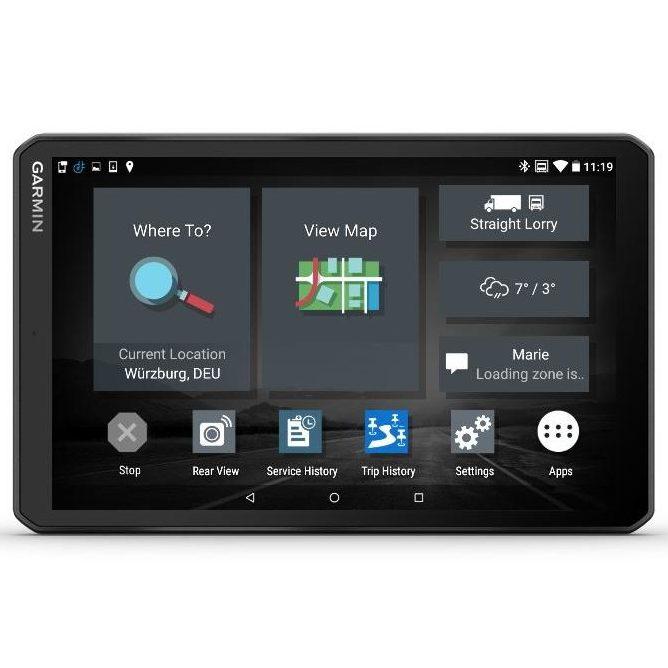 Автомобилна навигация Garmin Dēzl LGV800 MT-S с трафик само чрез смартфон
